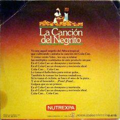 Detalle de la imagen de LA CANCION DEL NEGRITO (COLA CAO)