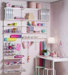 Elfa Utility Craft Room Abigayle room