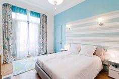 Grand appart classique et contemporain :  chambre