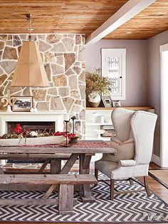Cabin-Inspired Space