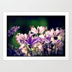 purple Flower  Art Print by LoRo  Art & Pictures - $16.55