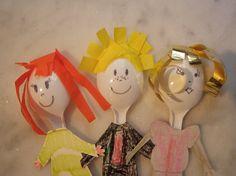 Amigos hechos con cucharas | Manualidades para niños en verano | Starmedia