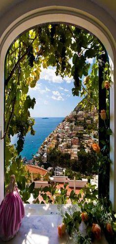 JOY IS... going somewhere you've always dreamed of. Amalfi Coast, Positano, Italy