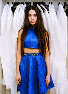 La mode surprenante d'Alexandra Louise Champion Hackett. Diy Fashion, Korean Fashion, Fashion Show, Fashion Outfits, Fashion Design, Mens Fashion, Anything But Clothes, Ikea Shopping, Shopping Bags