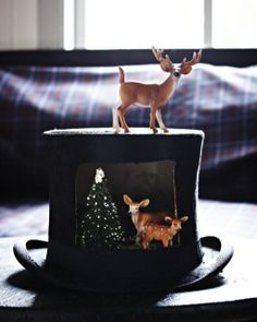 Holiday Diorama: Great recipes and more at http://www.sweetpaulmag.com !!