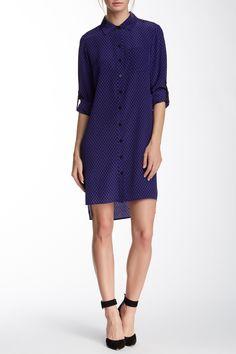 Prita Silk Shirt Dress by Diane von Furstenberg