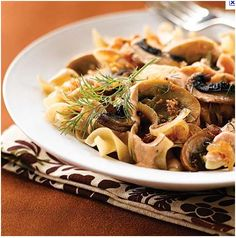 Sponsored Link  Mushrooms are one of the foods that Dr. Fuhrman wants you to have everyday. We found this vegetarian stroganoff dish from GroundedNutrition and adapted it to our liking. Ingredients: •    1 medium onion, sliced •    2 cloves fresh garlic, crushed •    2 stalks celery, cubed •    1 lb, about 2 mushrooms [mixed variety] …