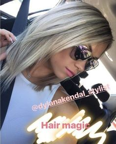 This pretty girl! Wishing the best trip ever to Spain lav ya Dieses hübsche Mädchen! Haircut And Color, Hair Color And Cut, Level 7 Hair Color, Haircut Style, Blonde Balayage, Blonde Hair, Ash Blonde, Ombre Hair, Medium Hair Styles