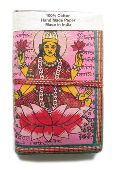 Buy Wealth Journal, Hindu Deity Laxmi Journal, Pink, Business Goals, Business Scheduler Book, Goddess of Wealth, Assets Diary, Recycled Paper by indianjournals. Explore more products on http://indianjournals.etsy.com