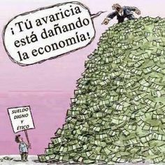 Funny pictures about Greedy People. Oh, and cool pics about Greedy People. Also, Greedy People photos. Political Art, Political Cartoons, Political Quotes, Political Problems, Trump Cartoons, Minimum Wage, Humor Grafico, Thought Provoking, How To Dry Basil