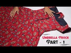 Today in this Full Video Tutorial You Learn Umbrella Frock Cutting in Hindi with Step by Step Cutting and Stitching of Long Umbrella Frock Cutting also it is. Long Umbrella, Frocks, Kurti, Stitching, Pajama Pants, Youtube, Fashion, Costura, Moda