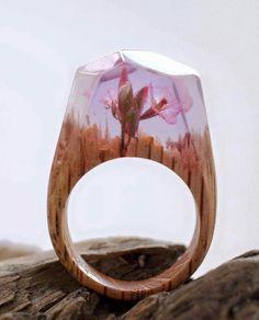 Fantastic Rings Jewelry by Canadian Artwork Secret Wood  instagram.com/secret.wood  www.mysecretwood.com