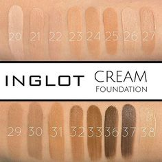 #Inglot 's Cream Foundations are about to be your new Fall/Winter go to foundation ❄️❄️ Transfer resistant and ultra moisturizing, helps keep dry skin healthy and beautiful offers build-able medium/full coverage and WILL NOT CLOG PORES shop link in bio #CameraReadyCosmetics