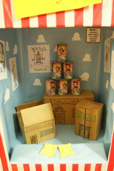 Photo booth idea Toy Story Midway Mania Carnival Birthday Party Ideas | Photo 15 of 32 | Catch My Party