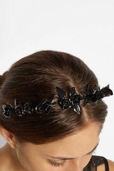 JENNIFER BEHR Floral-embellished headband $575