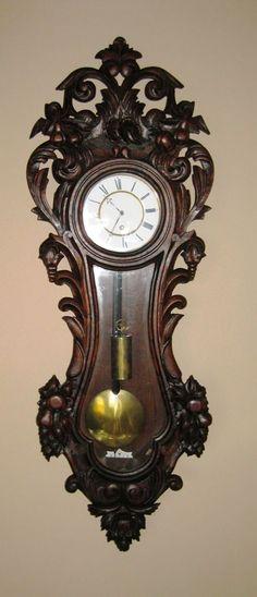 Lenzkirch 30-day Wall Clock