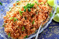 A fast and delicious solution to leftover rice; with a hint of fresh lime, and the rustic flavours of onions and tomatoes, this dish is sure to bring much needed life to any plate! Leftover rice is always a problem…