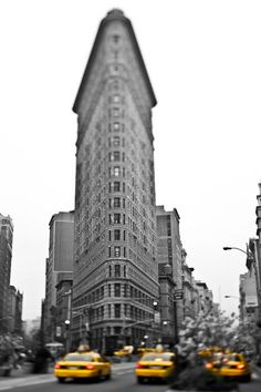 Flatiron Building New York City Photography Mad Men by Raceytay