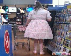 Funny Things You See At Walmart (12 Photos)...I hope some of these were set up...for the sake of the human population, omg.