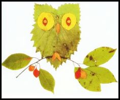 Fall craft idea: leaf art #CoolBeansPlayCafe #crafts #fall