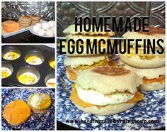 herding cats & burning soup: Tasty Delights--Egg McMuffins!