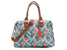Mix No.6  Zig Zag Floral Weekender Bag