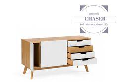 Promocja na designerskie i piękne komody Chaser! 5% rabatu do końca miesiąca. #promocja #rabat #onemarket #design #woodman #chaser #komoda