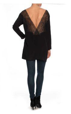 Topp Lily Lace Short BLACK - FAV - Designers - Raglady