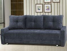 Visita inesperada em #casa? Calma, tudo vai dar certo. Olha como este #sofá cama é lindo e de qualidade! <3 #Tesalva #sofácama #decoração #design #madeiramadeira