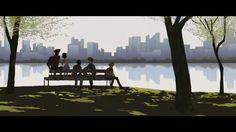 Dans le New-York des années 50, cinq jeunes gens déambulent dans les rues de Brooklyn, se promènent à vélo le long des allées de Central Park, et flânent sur la plage de Coney Island.  New York, in the 50's, five young people are wandering in Brooklyn streets, riding bicycles accross the alleys of Central Park and loafing around on the beach of Coney Island.  Film réalisé comme court métrage d'ouverture pour le Festival International du Film d'Animation (FIFA) d'Annecy 2011, par Alice ...