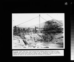 F.P.C. Vol 1, Projects 67 & 120 - Construction Florence Lake Dam, Florence Tunnel, & Mono-Bear Diversion. :: Southern California Edison Photographs and Negatives