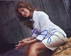 Authentic in-person autographs of Female Celebrities - Sign Here ...