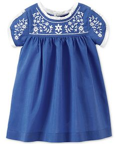 Carter\'s Baby Girls\' Embroidered Dress - Kids - Macy\'s