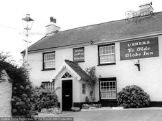 Berrynarbor, Ye Olde Globe Inn from Francis Frith Devon And Cornwall, North Devon, Family Genealogy, Liverpool, Infographics, Places Ive Been, United Kingdom, Travel Tips, Globe
