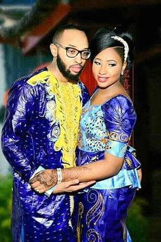 African Matching Outfits~ lattest African Fashion ❤Bazin