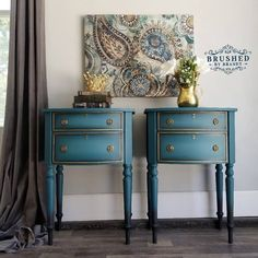 My Top 20 Dixie Belle 3 Color Blends – Brushed By Brandy Chalk Paint Table, Chalk Paint Furniture, Chalk Painting, Painting Tips, Furniture Painting Techniques, Paint Techniques, Dixie Belle Paint, Color Blending, Furniture Makeover