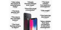 Apple promociona comentarios positivos de las primeras revisiones del iPhone X