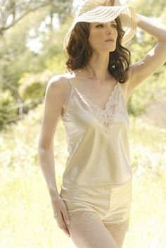 Farr West Vintage Bloom Cami and Pettipant