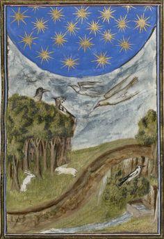 Nicole Oresme, Traité de la sphère ; Aristote, Du ciel et du monde [De caelo et de mundo], traduction française par Nicole Oresme.