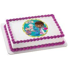 Doc McStuffins Doc & Friends Edible Cake, Cupcake & Cookie Topper