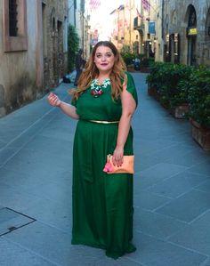 Plus Size Fashion - Danielle Vanier: Greener Pastures