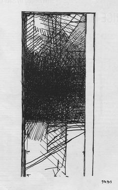 Brice Marden, page from The Suicide Notes, February 1972/July 1973