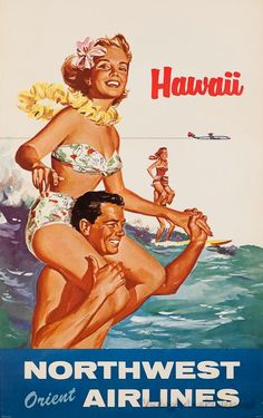 Hawaii: Northwest Orient Airlines