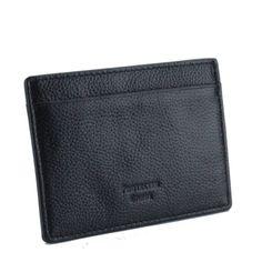 Pebble Leather RFID Blocking Card Holder Wallet Black Cash Wallet, Rfid Blocking Wallet, Minimalist Wallet, Pebbled Leather, Carbon Fiber, Card Holder, Black, Minimal Wallet, Rolodex