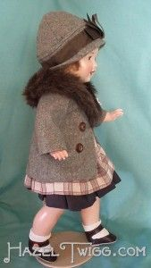 Another lost doll, lovingly restored from the brink of destruction by little sister Ruth. Meet Sophie.
