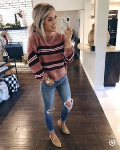 52 Winter Outfit Trends 2019 - Amazing Fall Casual Outfits You Can Copy Casual Fall Outfits, Mom Outfits, Fall Winter Outfits, Autumn Winter Fashion, Spring Outfits, Early Fall Outfits, Denim Outfits, Look Fashion, Fashion Outfits