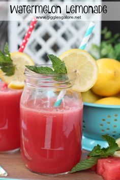 Watermelon Lemonade|