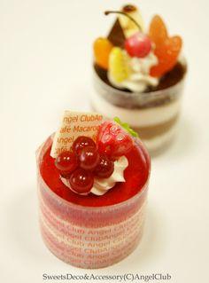 #sweetsdeco #clay #miniature #handmade #lesurf #スイーツデコ https://www.etsy.com/jp/shop/LeSurfDesign