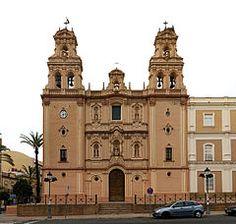 Huelva catedral de la Virgen de la Merced