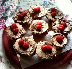 #vegan raspberry tiramisu #cupcakes